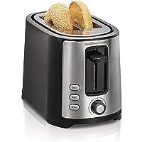 Hamilton Beach Beach Extra-Wide 2 Slice Slot Toaster, Black (22633)