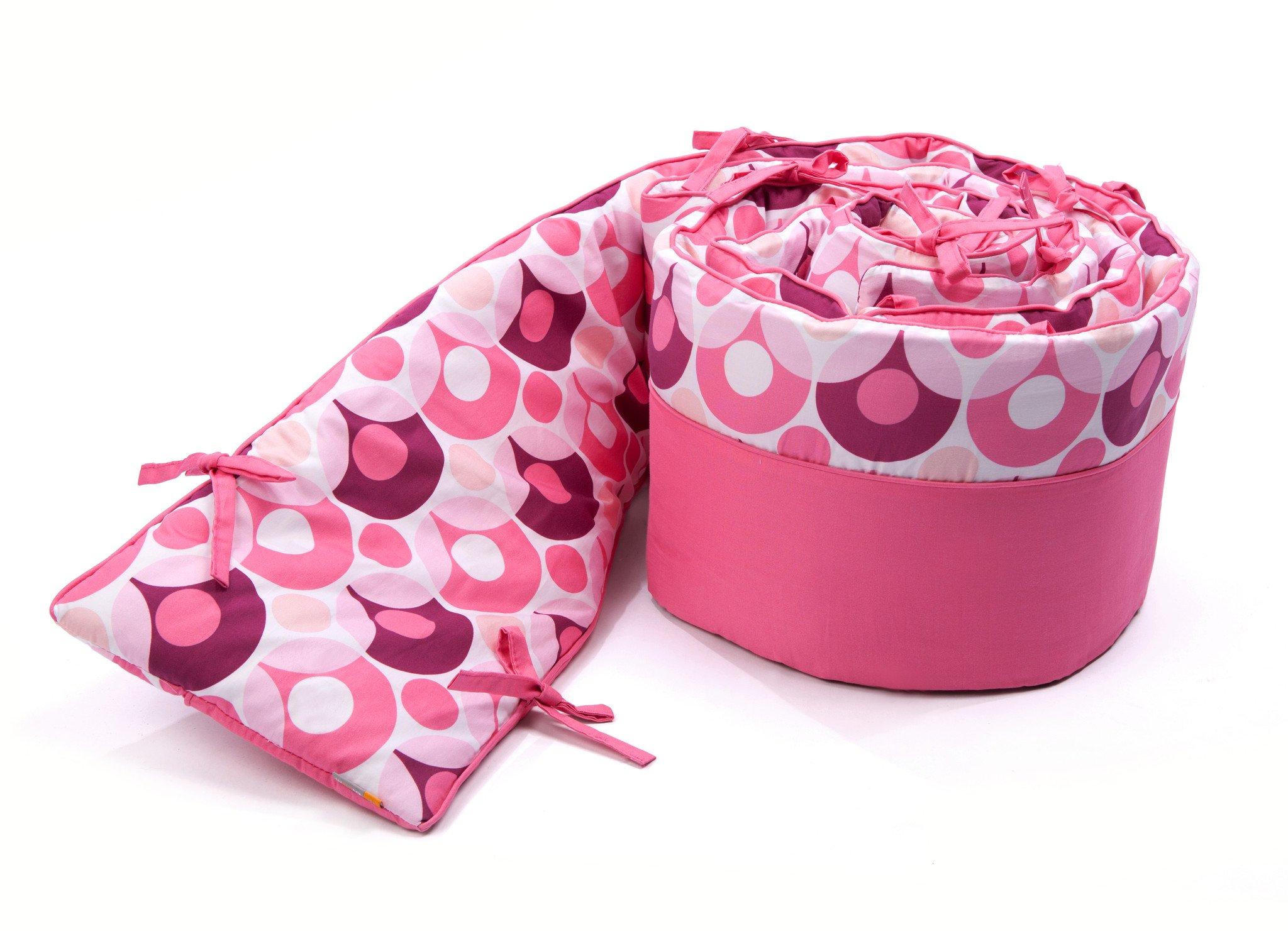 Bloom Luxo Lollipop Bumper, Rosy Pink