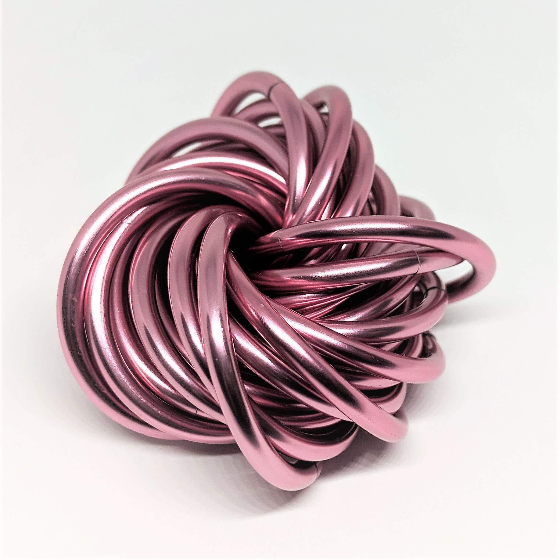 Möbii Daydream: X-Large Mobius Fidget Ball Toy, Stress Ball for Restless Hands (Pink Ice) by Möbii (Image #1)
