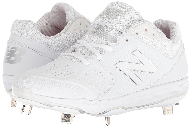 New Balance Women's Velo V1 Metal Softball Shoe B075R3RBVV 10.5 B(M) US|White/White