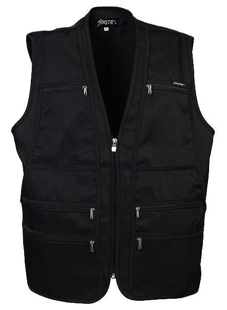 Men\u0027s 9 Pockets Work Utility Vest Military Photo Safari Travel Vest  Workwear Jacket