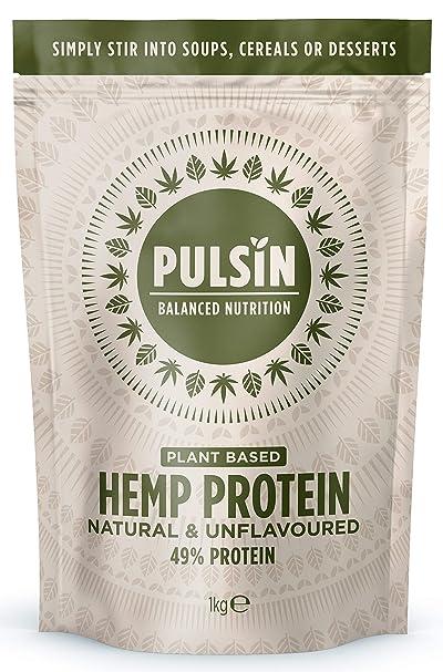 Pulsin' Hemp Protein Powder,1kg
