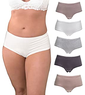 ce9f7b7d40782 Stylzoo Women s Plus Size Multi Pack Women s Panties Bikini Briefs ...