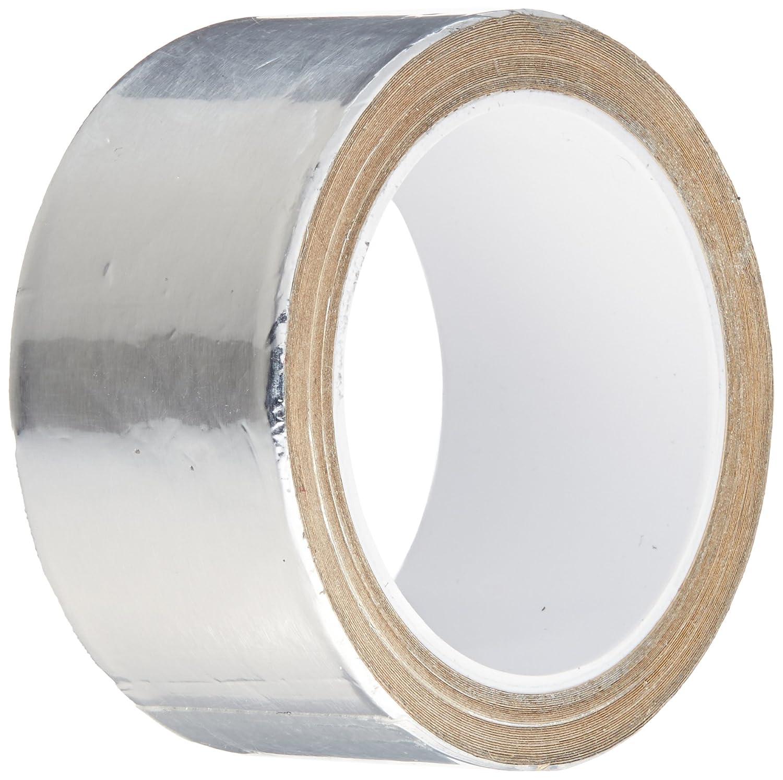 TapeCase 1-5-3380 3380 1in X 5yd Silver Aluminium Foil Tape