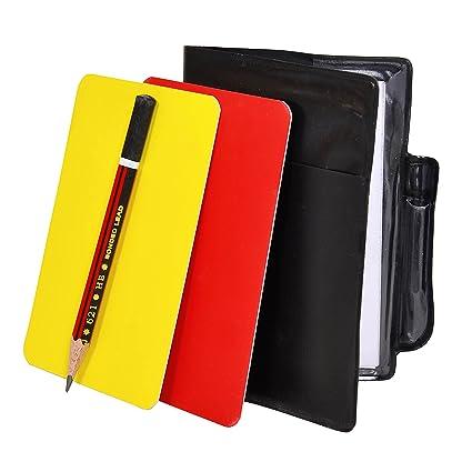 Amazon.com: grazzo rojo, amarillo, Set de tarjetas de ...