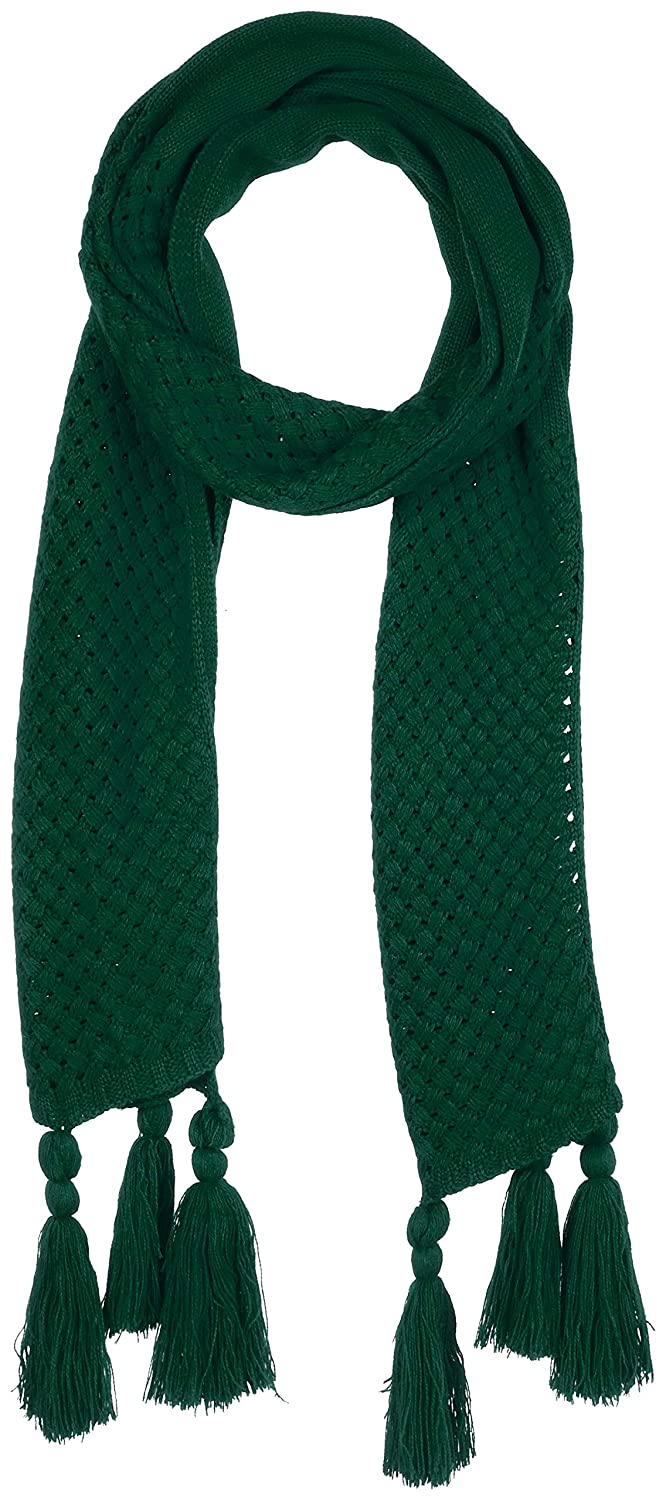 Green Beautiful Nomad Women colorful Scarf Wrap with Tassels