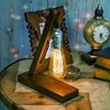OYGROUP Retro Table Lamp Loft Antique Lighting for Home Bar Cafe Hotel Bedside Decoration without Bulbs