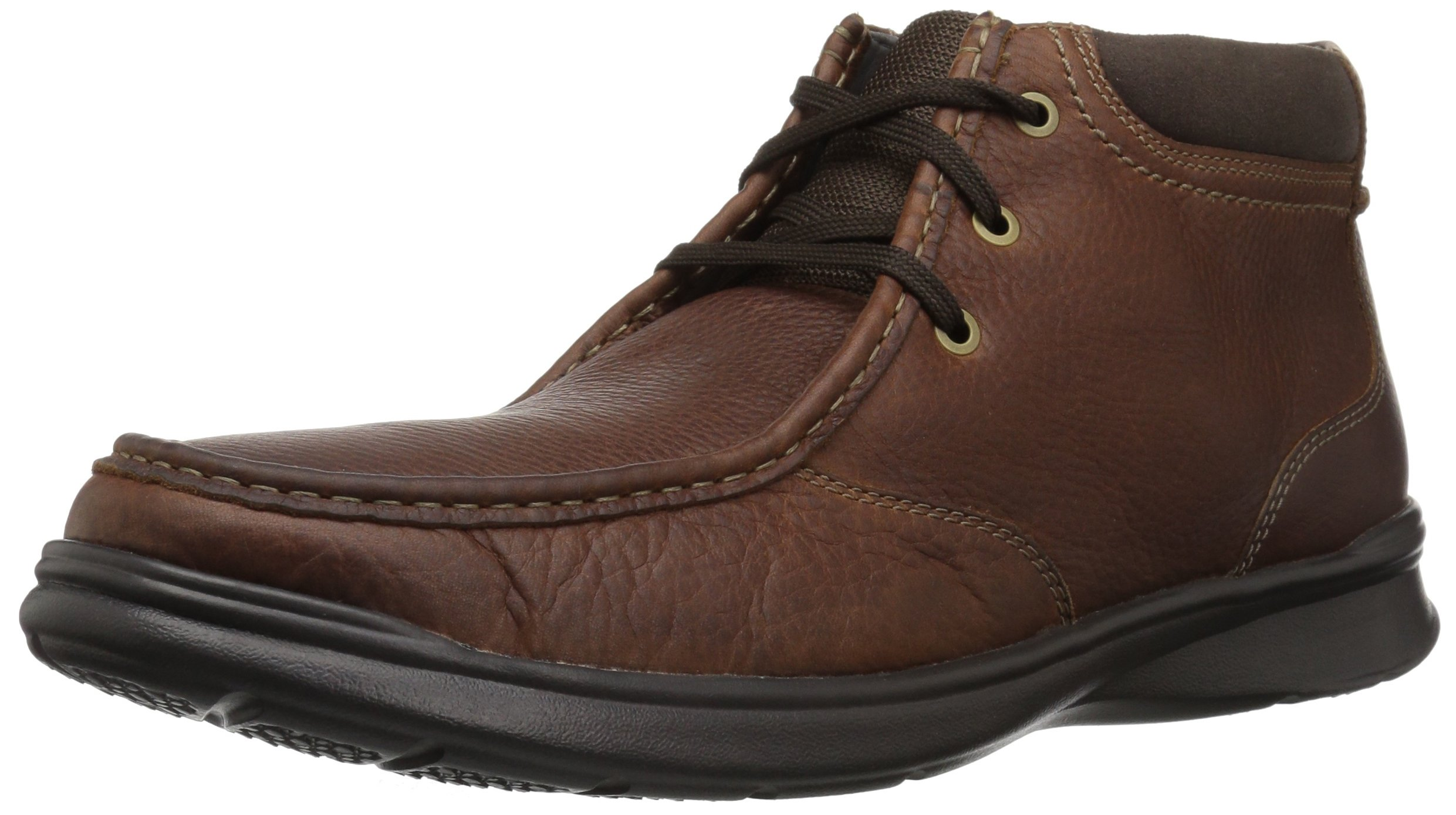 CLARKS Men's Cotrell Top Fashion Boot, Tobacco Leather, 085 M US
