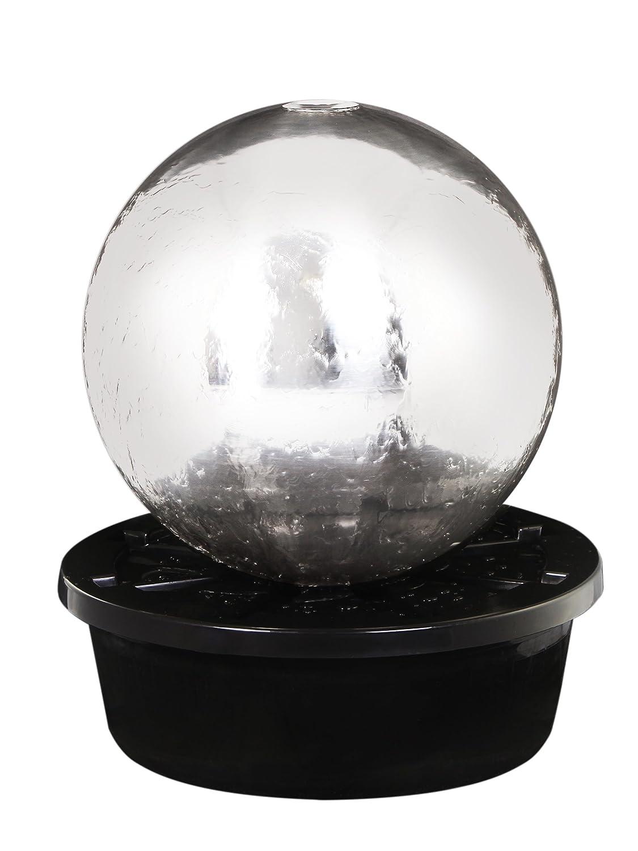 Primrose Ambiente St Helens 50 cm acero inoxidable Sphere, Fire y función de agua