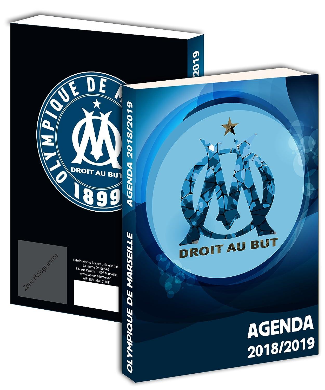 Agenda scolaire Om 2018 / 2019 - Collection officielle OLYMPIQUE DE MARSEILLE - Rentrée scolaire