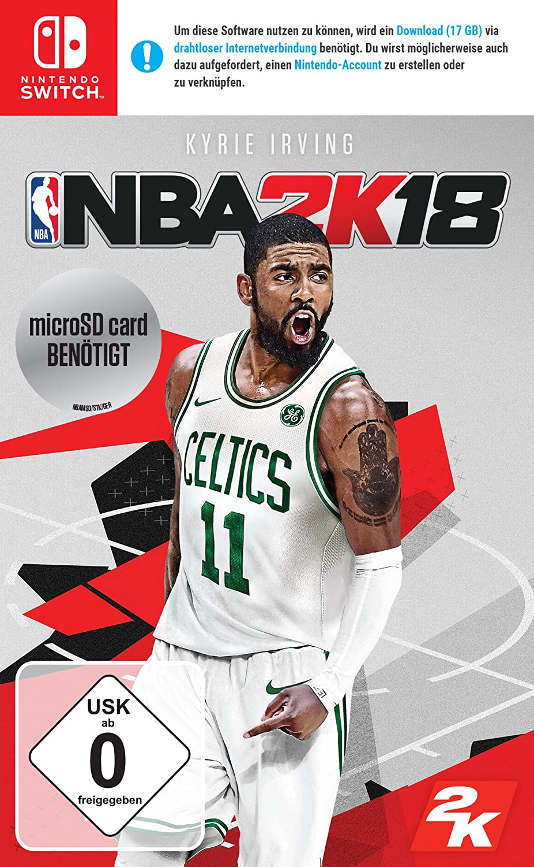 NBA 2K18 - Standard Edition - Nintendo Switch [Importación alemana ...
