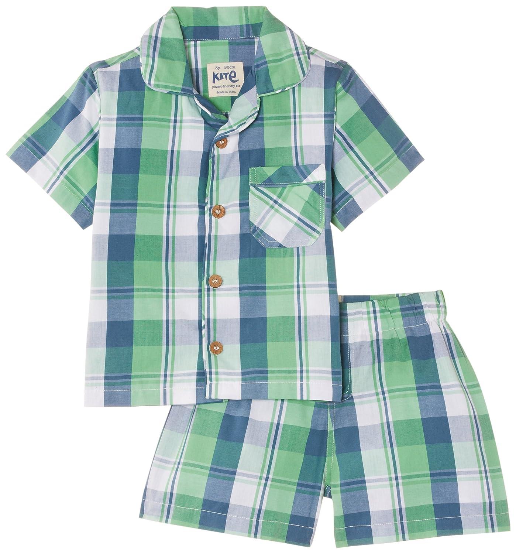 Organic Kite Boys Gingham Shirt 3-11 Years