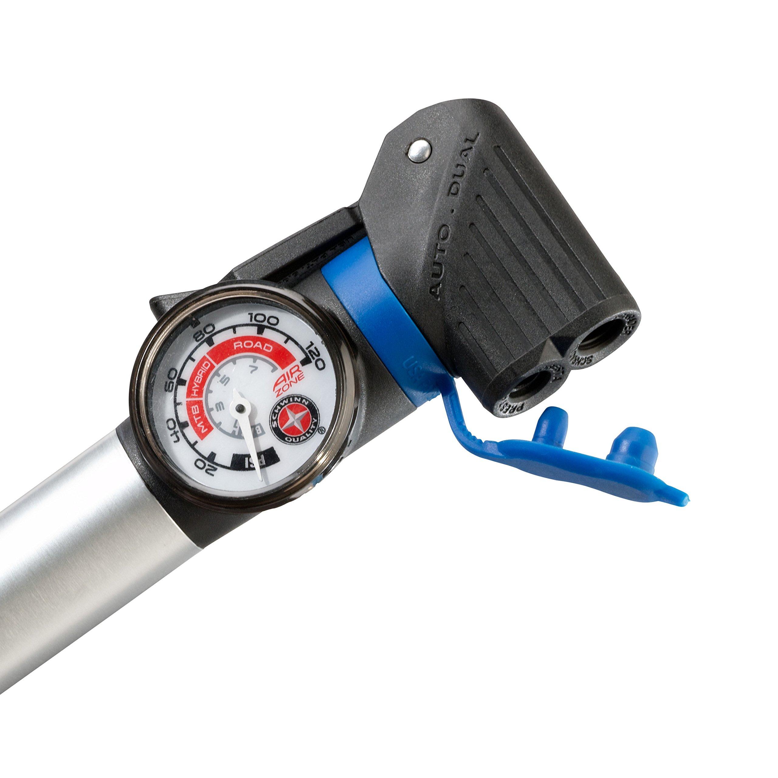 Schwinn Air Sport Plus Gauge Frame Pump 38675111837 | eBay