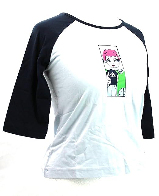adidas Camiseta de Manga Corta - Logotipo - Manga 3/4 - Para Niña Azul Claro Talla Única: Amazon.es: Ropa y accesorios