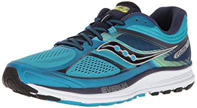 Saucony Men's Guide 10 Running Shoes, Blue Navy, 16 M US