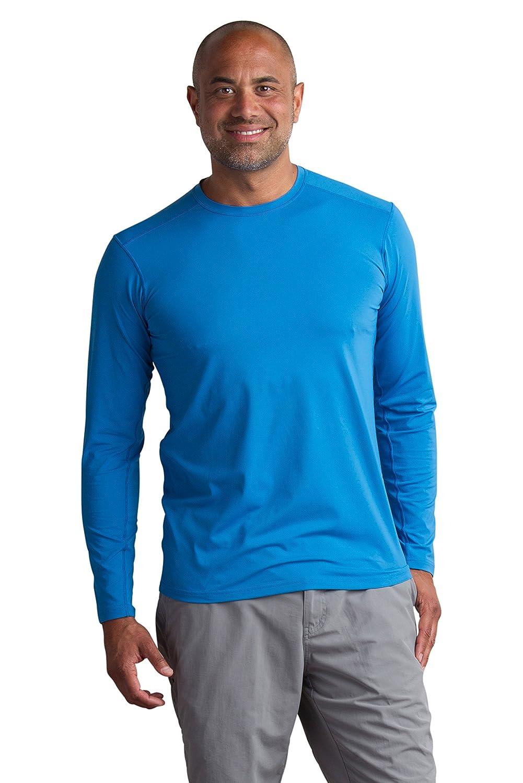 ExOfficio Sol Cool Performance Crew Long Sleeve Shirt Mens