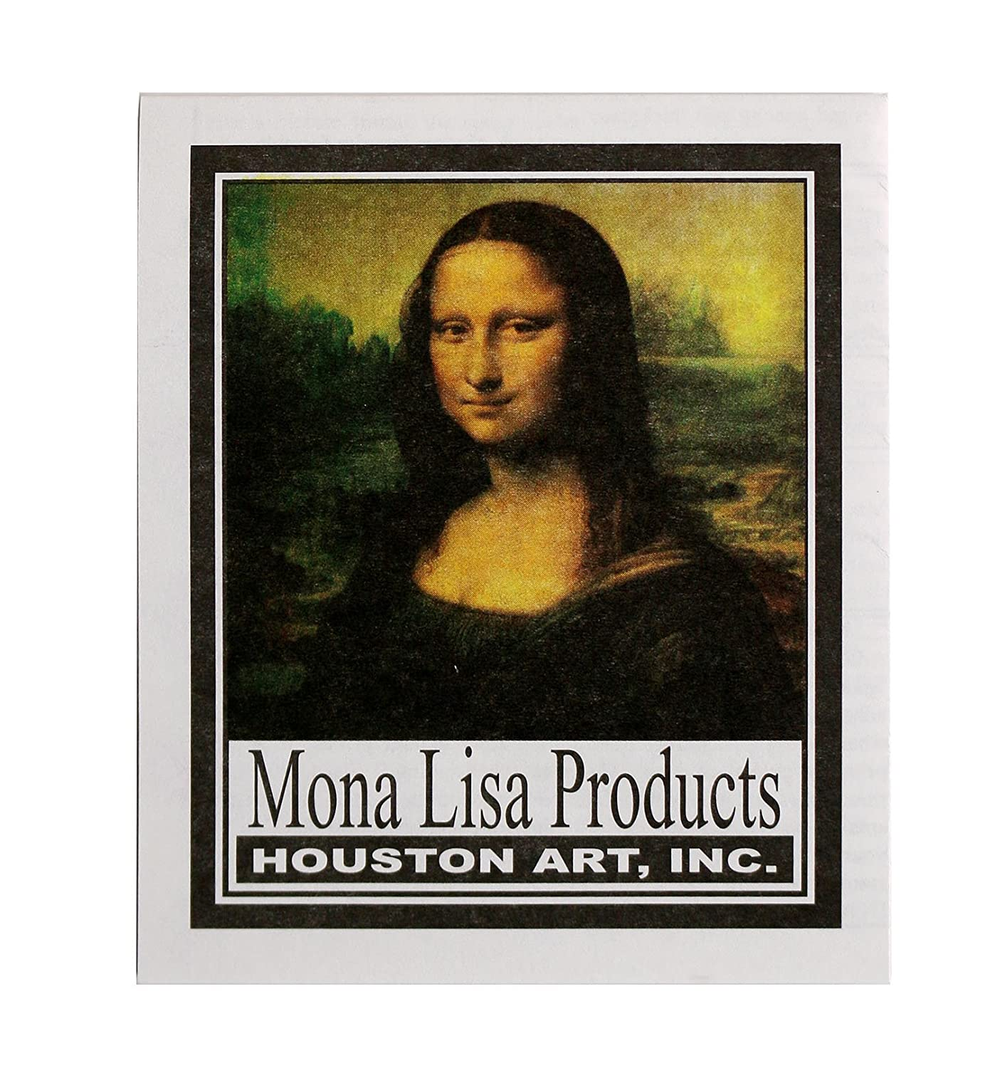 Speedball 10206 Mona Lisa Composition Silver Metal Leaf Sheets 25 Pack Metal Leafing Sheets Made of Aluminum
