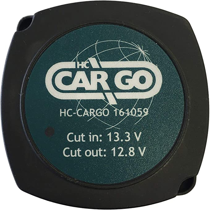 Leisure Battery Voltage Sensitive Automatic Split Charge Relay Kit 140 Amp 2M LG