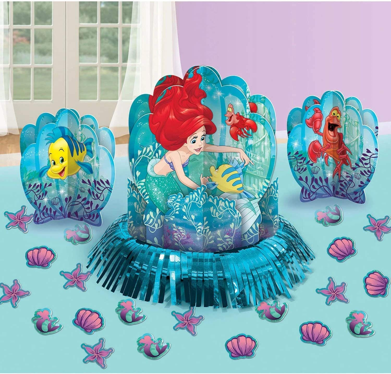 Amazon.com: Amscan Disney Ariel The Little Mermaid Dream ...