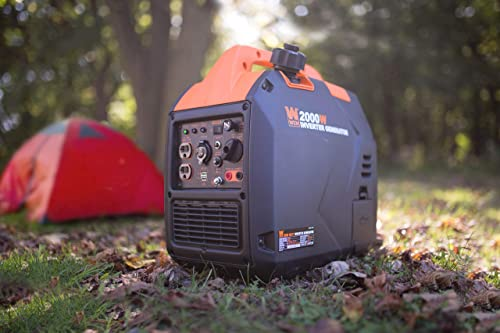 WEN 56203i Super Quiet 2000-Watt Portable Inverter Generator