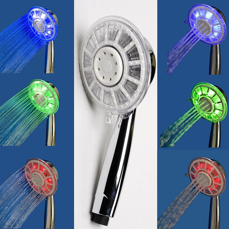 EISL DX7060 Ducha manual con iluminación LED Yllumi: Amazon.es: Bricolaje y herramientas