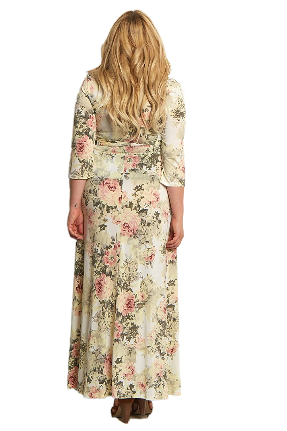 78d8a1557e96c PinkBlush Maternity Floral Sash Tie Maxi Dress at Amazon Women's Clothing  store: