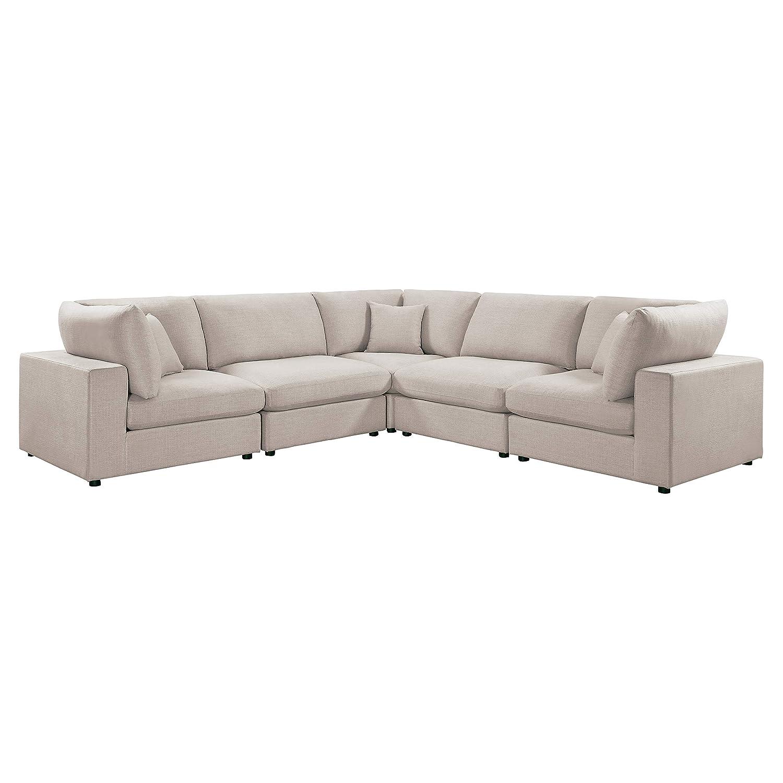 Groovy Amazon Com Homelegance Casoria 120 X 120 Fabric Modular Pabps2019 Chair Design Images Pabps2019Com