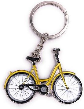H-Customs Colgantes de Cadena Amarilla Bicicleta Bicicleta: Amazon.es: Equipaje