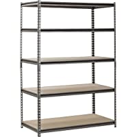 Muscle Rack 5-Shelf Heavy-Duty Steel Shelving, 24