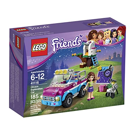 Amazoncom Lego Friends Olivias Exploration Car 41116 Toys Games