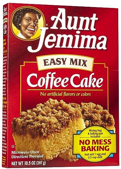 Amazon Com Aunt Jemima Easy Coffee Cake Mix 10 5 Oz Pancake