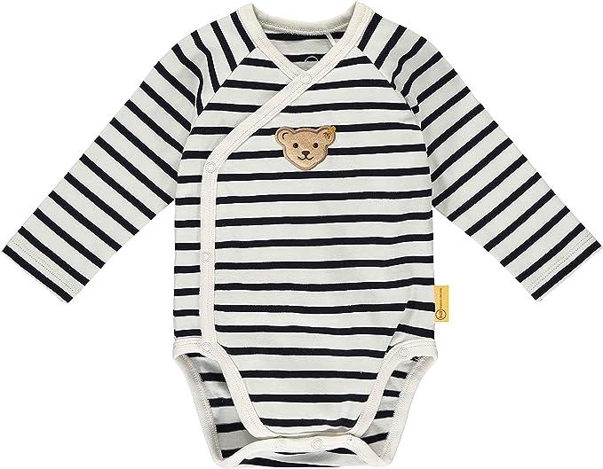 Steiff Baby-Jungen Mit S/ü/ßer teddyb/ärapplikation Body Langarm
