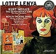 Lotte Lenya chante Kurt Weil [Import allemand]