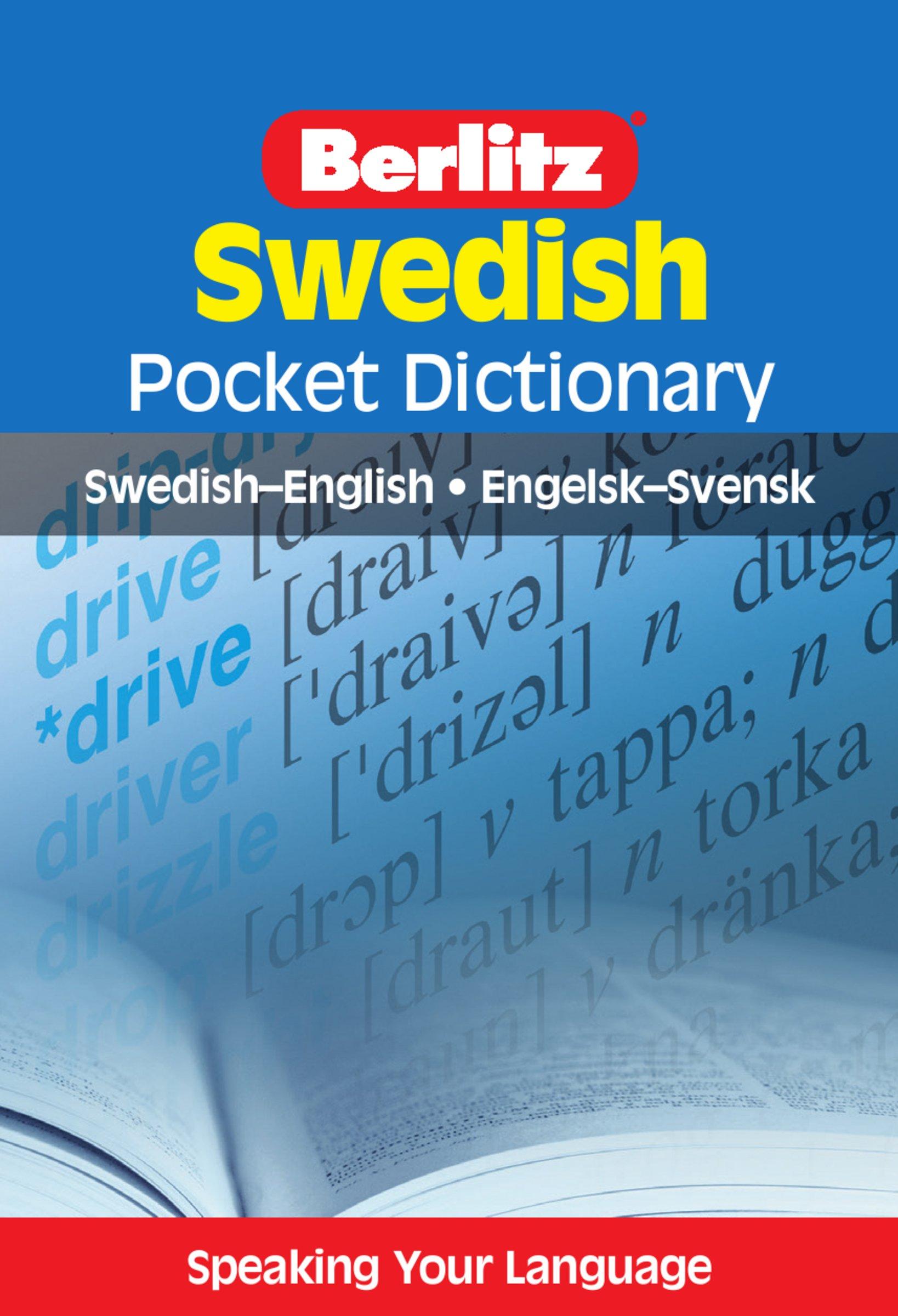 Berlitz Pocket Dictionary Swedish  English Swedish   Swedish English  Berlitz Pocket Dictionaries