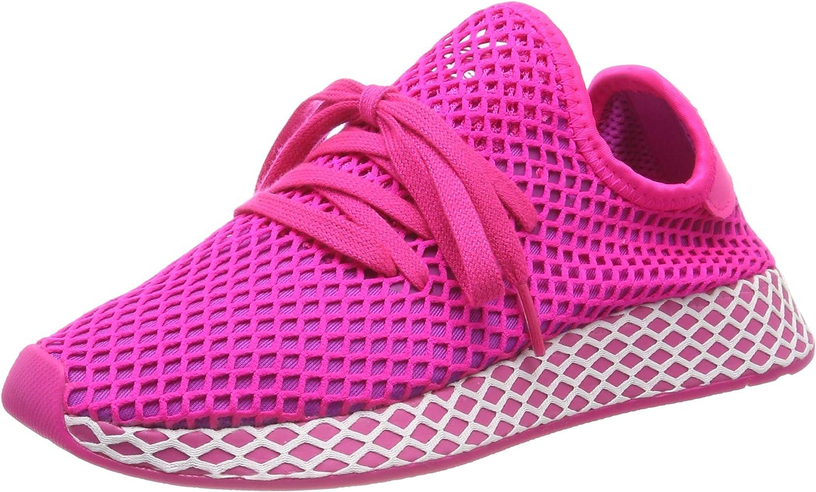 adidas Deerupt Runner W Zapatillas de Running Mujer, Rosa (Shock ...