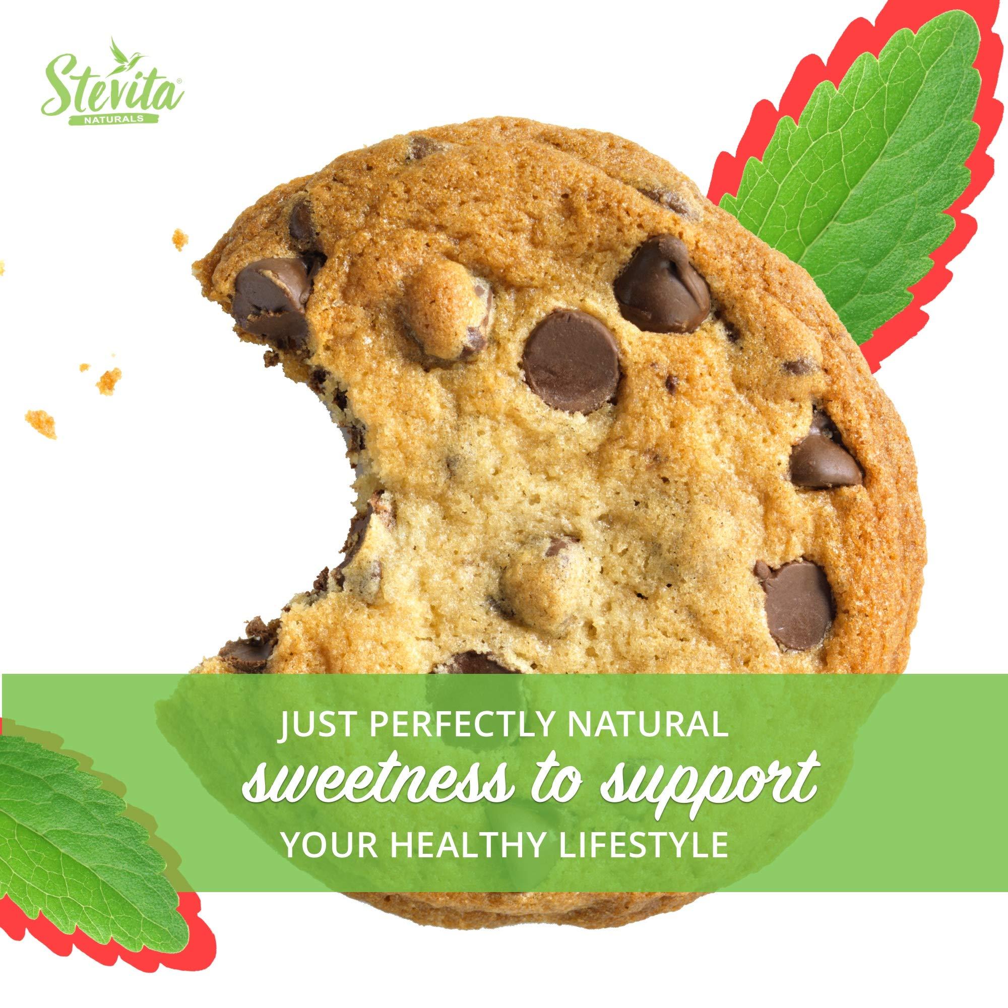 Stevita Stevia Organic Spoonable Stevia Powder - 50 Packets - Stevia & Erythritol All Natural Sweetener, No Calories - USDA Organic, Non GMO, Vegan, Keto, Paleo, Gluten-Free - 50 Servings by STEVITA (Image #8)