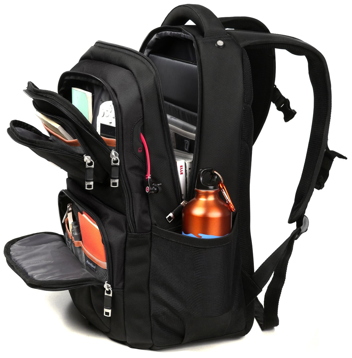 Amazon.com  Slim Business Laptop Backpack 15 Inch for Women Men Water  Resistant Lightweight Large Padded Durable Ergonomic Prime Quality 30l Cool  Urban ... 1423b02a32