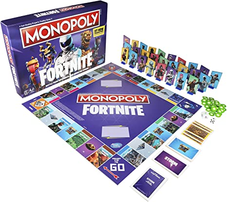 Monopoly: Fortnite Edition Board Game Inspired by Fortnite Video Game Ages 13 & Up: Amazon.es: Juguetes y juegos