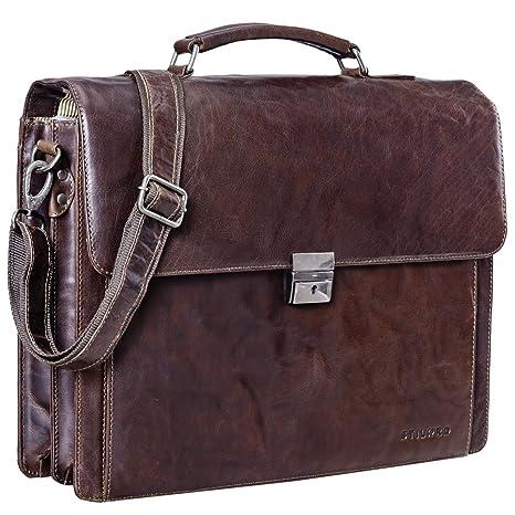 99c58c4ed66ed STILORD  Johann  Klassische Aktentasche Herren Damen Businesstasche für  15