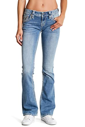 23d3439aa83c41 Rock Revival Amra Women Bootcut Jean Denim (24, Medium) at Amazon Women's  Jeans store