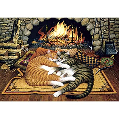 Buffalo Games - Charles Wysocki - All Burned Out - 300 Piece Jigsaw Puzzle: Toys & Games