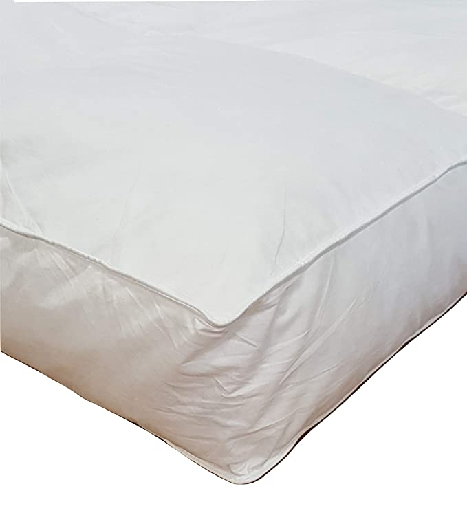 Millsave Goose Down & Feather Mattress Topper - Hotel-Quality and Extreme Quality