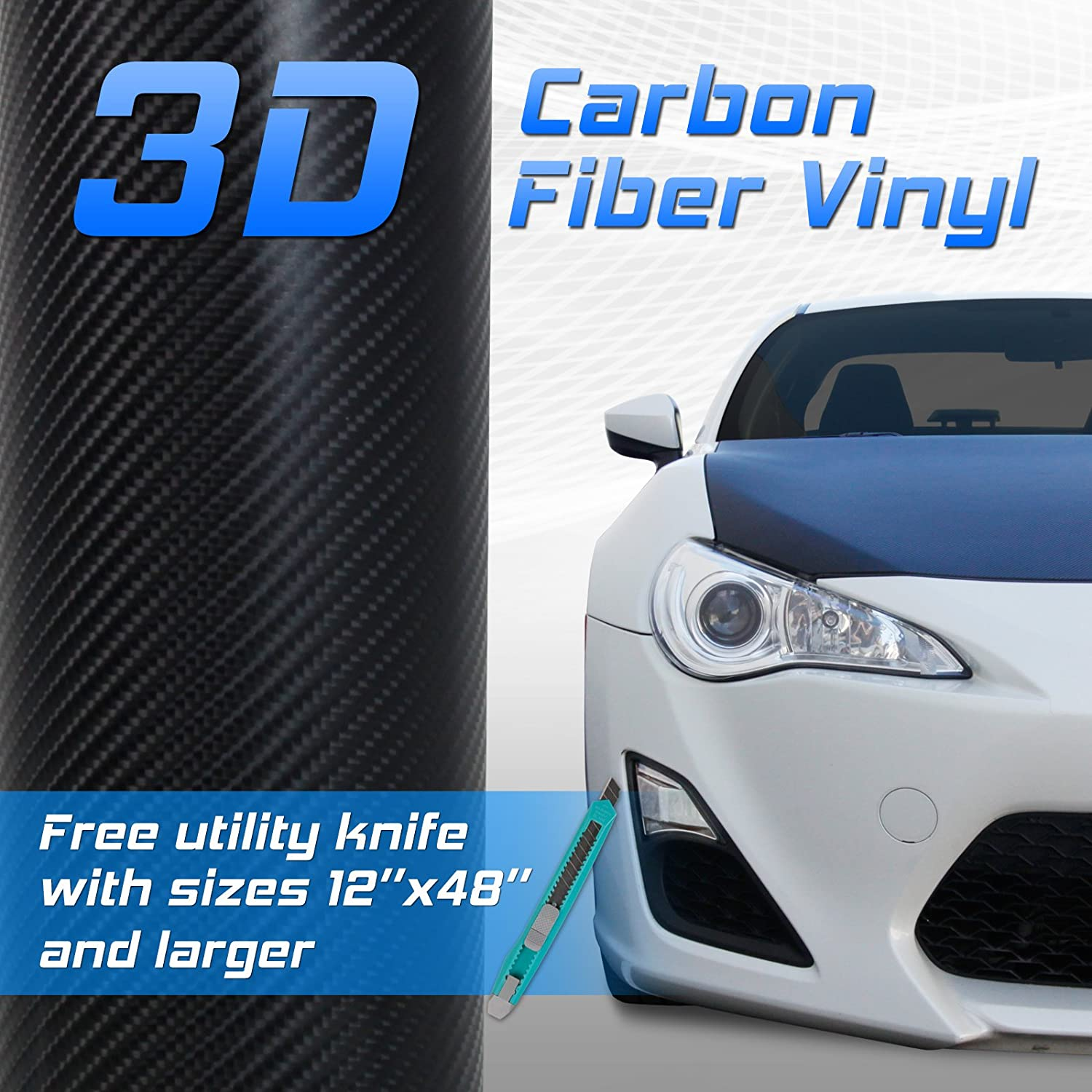 How to properly glue the carbon fiber film on the car: the features of the process