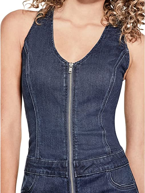 62470d24a65 G By Guess Jessi Denim Romper  Amazon.ca  Clothing   Accessories