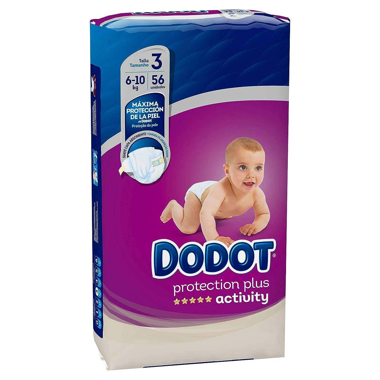 Dodot Protection Plus Activity Pa/ñales Talla 3 6-10 kg 56 Pa/ñales
