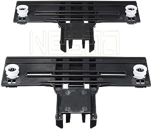 NEBOO 2 PACK W10350376 Dishwasher Upper Rack Adjuster for Kenmore Kitchenaid