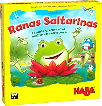 Haba Juego de Mesa Ranas Saltarinas-ESP, Multicolor (H305275 ...