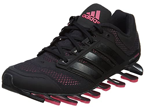 08ca9206b4e6 Adidas Women s Springblade Drive Running Shoes Black Sol Pink 9 B(M) US   Amazon.in  Shoes   Handbags