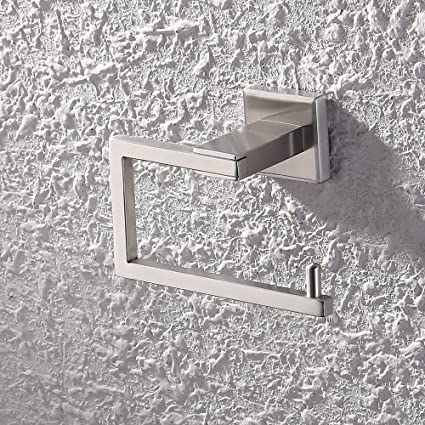 KES SUS 304 Stainless Steel Toilet Paper Holder Storage Rustproof Bathroom  Paper Towel Dispenser Tissue Roll