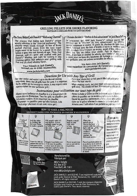 Jack Daniel/'s Wood Smoking Chips Räucherholz Daniels Smoker Grill Pellets Smoke